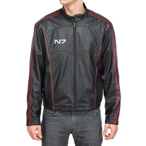 [Mass Effect: Faux Leather Jacket: N7 (Product Image)]