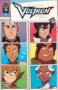 [Voltron: Legendary Defender: Volume 3 #3 (Cover B Carreon) (Product Image)]