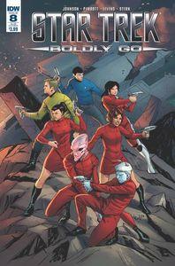 [Star Trek: Boldly Go #8 (Subscription Variant) (Product Image)]