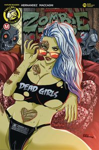 [Zombie Tramp: Ongoing #70 (Cover C Rudetoons Reynolds) (Product Image)]