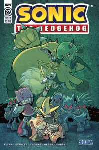 [Sonic The Hedgehog #27 (Cover A Wells & Graham) (Product Image)]