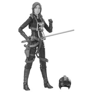 [Star Wars: Expanded Universe: Black Series Action Figure: Jaina Solo (Product Image)]