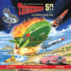 [Thunderbirds: Co-operative Board Game (Product Image)]