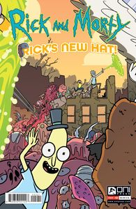 [Rick & Morty: Rick's New Hat #2 (Cover B Stern) (Product Image)]