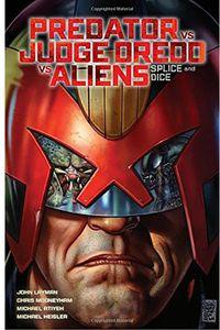 [Predator Vs Judge Dredd Vs Aliens: Volume 1: Splice & Dice (Signed Edition) (Product Image)]