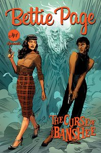 [Bettie Page: The Curse Of The Banshee #1 (Cover C Mooney) (Product Image)]