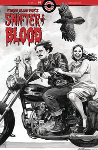 [The cover for Edgar Allan Poe`s Snifter Of Blood #1]