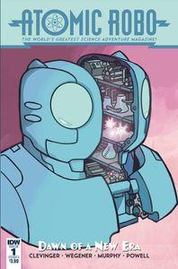[Atomic Robo & Dawn Of New Era #1 (Cover A Wegener) (Product Image)]