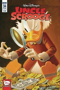 [Uncle Scrooge #34 (Cover A Mazarello) (Product Image)]