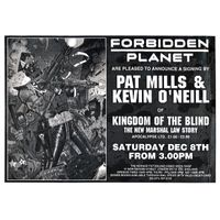 [Pat Mills and Kevin O'Neill Signing (Product Image)]