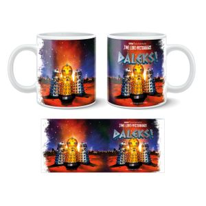 [Doctor Who: Time Lord Victorious: Mug: Daleks! Animation (Product Image)]