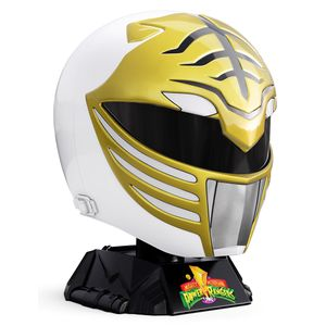 [Mighty Morphin Power Rangers: Lightning Collection Replica Helmet: White Ranger (Product Image)]