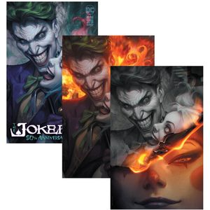 [Joker: 80th Anniversary 100 Page Super Spectacular #1 (Artgerm Collectibles Exclusive Three Variant Set) (Product Image)]