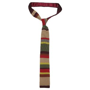 [Doctor Who: Fourth Doctor Knitted Tie (Product Image)]