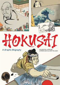 [Hokusai: A Graphic Biography (Hardcover) (Product Image)]