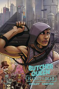 [Butcher Queen: Planet Of The Dead #1 (Cover A Ben Sawyer) (Product Image)]