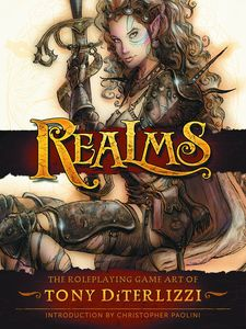 [Realms: The Roleplaying Art Of Tony Diterlizzi (Hardcover) (Product Image)]