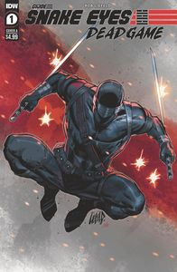 [Snake Eyes: Deadgame #1 (Cover A Liefeld) (Product Image)]