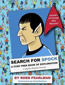 [Search For Spock: A Star Trek Book Of Exploration (Hardcover) (Product Image)]