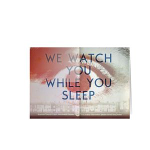 [Scarfolk: Greetings Card: We Watch You (Product Image)]