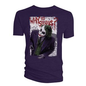 [The Dark Knight: T-Shirt: Why So Serious? (Product Image)]