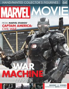 [Marvel Movie Collection #64: War Machine V2 (Product Image)]