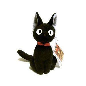 [Studio Ghibli: Kikis Delivery Service: Plush: Jiji Sitting (Product Image)]