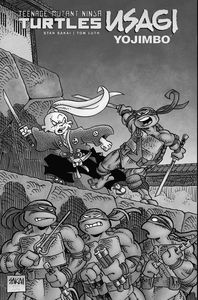 [Teenage Mutant Ninja Turtles/Usagi Yojimbo: One Shot (Hardcover) (Product Image)]