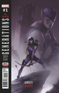 [Generations: Hawkeye & Hawkeye #1 (Mattina 2nd Printing Variant) (Product Image)]