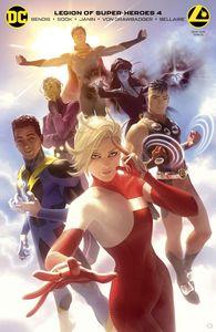 [Legion Of Super Heroes #4 (Card Stock Alex Garner Variant Edition) (Product Image)]