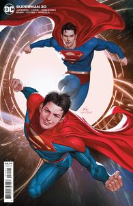 [Superman #30 (Cover B Inhyuk Lee Card Stock Variant) (Product Image)]