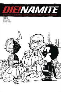 [Die!Namite #3 (Peanuts Homage Line Variant) (Product Image)]