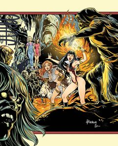 [Red Sonja & Vampirella Meet Betty & Veronica #12 (Braga Virgin Variant) (Product Image)]