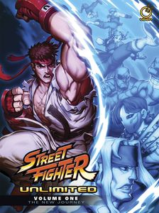 [Street Fighter: Unlimited: Volume 1: New Journey (Hardcover) (Product Image)]