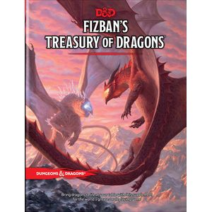 [Dungeons & Dragons: Fizban's Treasury Of Dragons (Hardcover) (Product Image)]