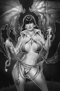[Vampirella #21 (White Black & White Virgin Variant) (Product Image)]