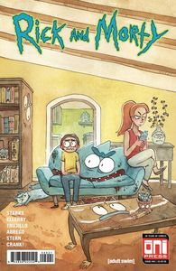 [Rick & Morty #40 (Cover B Riess Variant) (Product Image)]