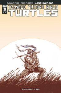 [Teenage Mutant Ninja Turtles: Macro-series: Leonardo (Cover B Campbell) (Product Image)]
