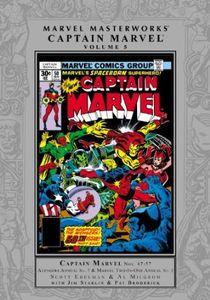 [Marvel Masterworks: Captain Marvel: Volume 5 (Hardcover) (Product Image)]