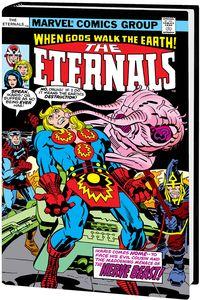 [Eternals: Complete Saga: Omnibus (Kirby DM Variant Hardcover) (Product Image)]
