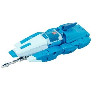 [Transformers: Generations Titans Return: Wave 1 Deluxe Action Figures: Blurr (Product Image)]