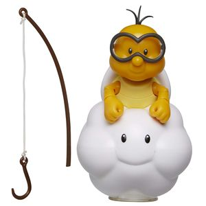 [World Of Nintendo: Action Figure: Lakitu With Fishing Pole (Product Image)]