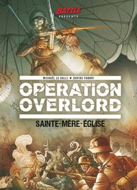 [The cover for Operation Overlord #1]
