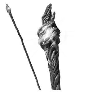 [The Hobbit: Prop Replica: Gandalf The Grey Illuminating Staff (Product Image)]