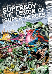 [Superboy And The Legion Of Superheroes: Volume 1 (Hardcover Signed Edition) (Product Image)]