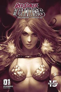 [Red Sonja: Age Of Chaos #1 (Chew Monochromatic Variant) (Product Image)]