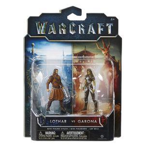 [Warcraft: Mini Figure 2 Pack: Garona & Lothar Civilian (Product Image)]
