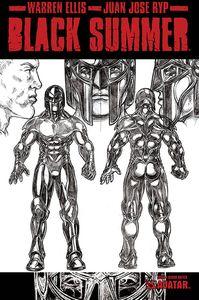 [Black Summer #4 (Design Sketch Variant) (Product Image)]