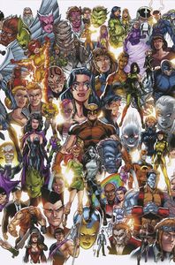 [X-Force #1 (Bagley Every Mutant Ever Variant DX) (Product Image)]