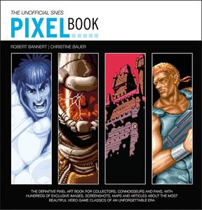 [The SNES Pixel Book (Hardcover) (Product Image)]